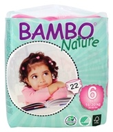 Bambo Nature - Baby Diapers Stage 6 XL (35-66 lbs) - 22 Diaper(s)