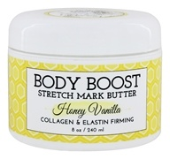 Basq Body Boost - Stretch Mark Butter Honey Vanilla - 8 oz.