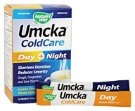 Nature's Way - Umcka ColdCare Day+ Night Hot Drink Mix Lemon-Citrus plus Honey-Lemon - 12 Packet(s)