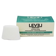 Level Naturals - Shower Bomb Organic Menthol + Eucalyptus - 4 Pack
