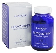 F1rst Nutrition - Purpose Lipoxanthin Metabolism Support - 90 Vegetarian Capsules