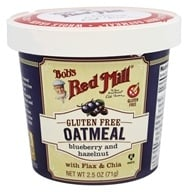 Bob's Red Mill - Gluten Free Oatmeal Cup Blueberry and Hazelnut - 2.5 oz.