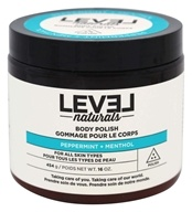 Level Naturals - Body Polish Peppermint + Menthol - 16 oz.