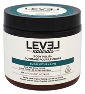 Level Naturals - Body Polish Eucalyptus + Lime - 16 oz.