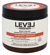 Level Naturals - Body Polish Grapefruit + Bergamot - 16 oz.