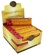 ChocoPerfection - Sugar Free Dark Chocolate 60% Cocoa Bars Box Raspberry - 24 Bars