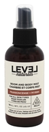 Level Naturals - Room and Body Mist Frankincense + Myrrh - 4 oz.