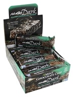 NuGo Nutrition - Dark Chocolate Bar Mint Chocolate Chip - 12 Bars