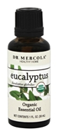 Dr. Mercola Premium Products - Organic Eucalyptus Essential Oil - 1 oz.