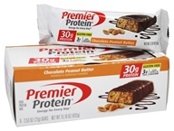 Premier Protein - High Protein Bar Chocolate Peanut Butter - 6 Bars