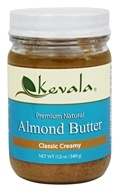 Kevala - Premium Natural Almond Butter Classic Creamy - 12 oz.