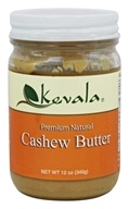 Kevala - Premium Natural Cashew Butter - 12 oz.