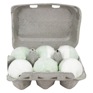 Level Naturals - Bath Bombs Eucalyptus + Lime - 6 Pack