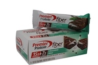 Premier Protein - Fiber Crispy Snack Bar Chocolate Mint - 6 Bars