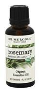 Dr. Mercola Premium Supplements - Organic Essential Oil Rosemary - 1 oz.