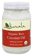 Kevala - Organic Raw Coconut Oil - 16 oz.
