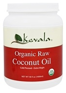 Kevala - Organic Raw Coconut Oil - 56 oz.