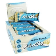 NuGo Nutrition - To Go Protein Bar Vanilla Yogurt - 15 Bars