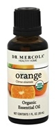 Dr. Mercola Premium Products - Organic Orange Essential Oil - 1 oz.