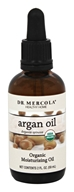 Dr. Mercola Premium Products - Organic Moisturizing Argan Oil - 2 oz.