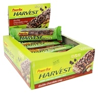 PowerBar - Harvest Long Lasting Energy Bar Double Chocolate Crisp - 15 Bars