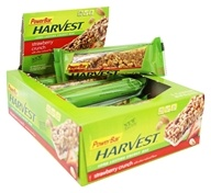 PowerBar - Harvest Long Lasting Energy Bar Strawberry Crunch - 15 Bars