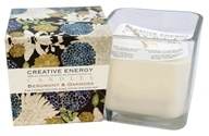 Creative Energy Candles - 2-in-1 Candle & Anti-Aging Lotion for Your Skin Bergamot & Oakmoss - 9 oz.