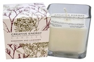 Creative Energy Candles - 2-in-1 Candle & Anti-Aging Lotion for Your Skin Rosemary & Lavender - 9 oz.