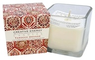 Creative Energy Candles - 2-in-1 Candle & Anti-Aging Lotion for Your Skin Tarocco Orange - 9 oz.
