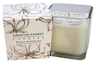 Creative Energy Candles - 2-in-1 Candle & Anti-Aging Lotion for Your Skin Simply Unscented - 9 oz.