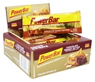 PowerBar - Performance Energy Bar Chocolate Peanut Butter - 12 Bars