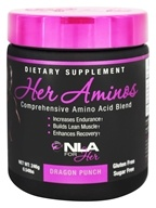 Her Aminos Comprehensive Amino Acid Blend Dragon Punch - 246 Grams by NLA for Her