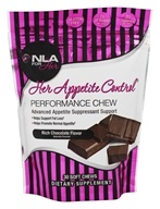 NLA for Her - Her Appetite Control Performance Chew Rich Chocolate - 30 Soft Chews