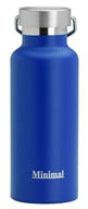 Minimal - Insulated Water Flask Blue - 17 oz.