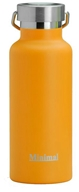 Minimal - Insulated Water Flask Orange - 17 oz.