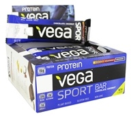 Vega - Vega Sport Protein Bars Chocolate Coconut - 12 Count