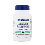 Life Extension - Advanced Bio-Curcumin with Ginger and Turmerones - 30 Softgels