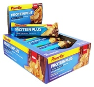 PowerBar - ProteinPlus Bar Reduced Sugar Chocolate Peanut Butter - 15 Bars