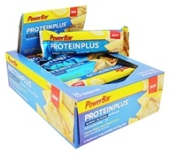 PowerBar - ProteinPlus Bar Reduced Sugar Lemon Poppy Seed Pound Cake - 15 Bars