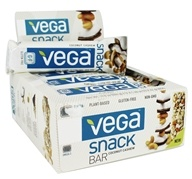 Vega - Snack Bars Box Coconut Cashew - 12 Bars