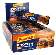 PowerBar - Triple Threat Long Lasting Energy Bar Caramel Nut Brownie - 15 Bars