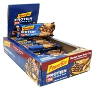 PowerBar - Triple Threat Long Lasting Energy Bar Chocolate Peanut Butter Crisp - 15 Bars