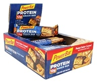 PowerBar - Triple Threat Long Lasting Energy Bar Peanut Butter Caramel - 15 Bars