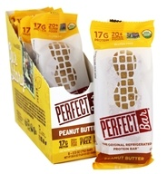 The Perfect Bar & Company - Perfect Foods Bars Box Peanut Butter - 8 Bars
