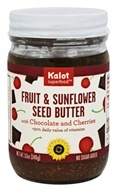 Kalot Superfood - Fruit and Sunflower Seed Butter with Chocolate and Cherries - 12 oz.