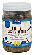 Kalot Superfood - Fruit and Cashew Butter with Blueberries, Pure Vanilla, and Chia Seed - 12 oz.