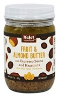 Kalot Superfood - Fruit and Almond Butter with Espresso Beans and Hazelnuts - 12 oz.