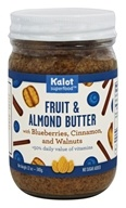 Kalot Superfood - Fruit and Almond Butter with Blueberries, Cinnamon, and Walnut - 12 oz.