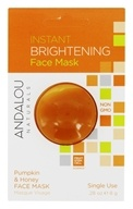 Andalou Naturals - Instant Brightening Face Mask Pumpkin & Honey - 0.28 oz.