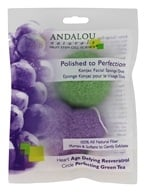 Andalou Naturals - Polished to Perfection Konjac Facial Sponge Duo - 2 Pack